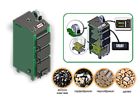Котел твердопаливний PALCHE 14-55 кВт з автоматикою та підворушувачем попелу
