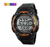 Часы Skmei 1203 Black_Orange, фото 1