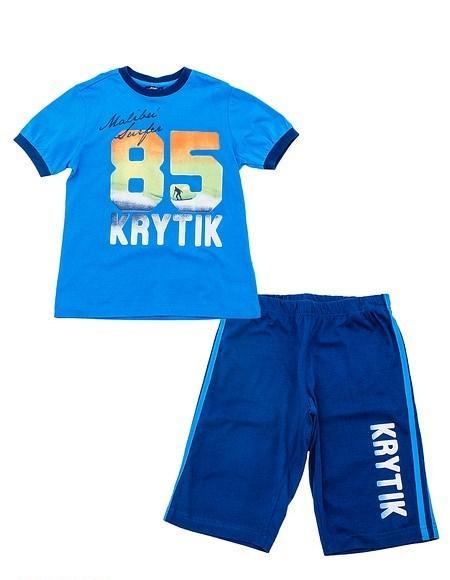 Детский комплект для мальчика Krytik Италия 89119 / KN / 00A Синий