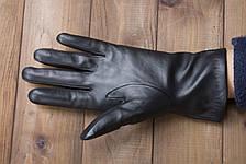 Женские кожаные сенсорные перчатки 943s1, фото 3