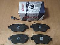 """Колодки тормозные передние FIAT DOBLO 1.2-1.9 2001>; """"SOLGY"""" 209044 - производства Испании, фото 1"""