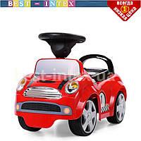 """Детская машинка-толокар HZ 536-3 """"Формула 1"""" резиновое покрытие колес (красная)"""