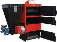 Стальной  твердотопливный котел с автоматической подачей топлива Roda RK3G/S-50