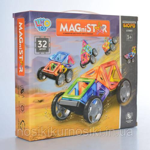 Конструктор магнитный Magnetic Sheet 32 детали LT 3001