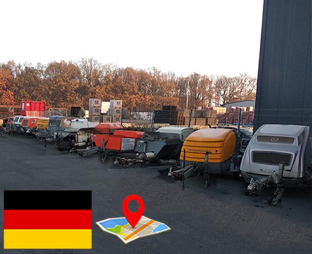 Німеччина - техніка вживана