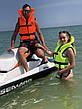 Спасательный жилет с воротником Vulkan Neon green 70-90 кг, фото 6