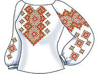 Заготовка женской вышиванки бисером на льне СВЖБ-30