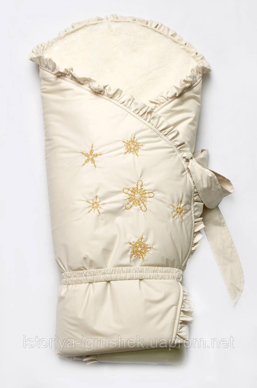 Конверт-одеяло зимний на меху