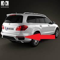 Катафот отражатель в задний бампер правый новый Mercedes GL X166 X 166