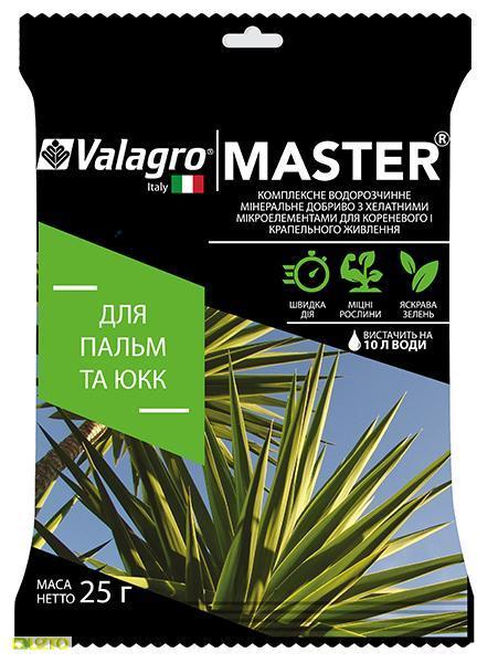 Мастер комплексное минеральное удобрение для пальм и юкк, 25 г