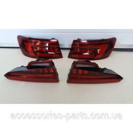 Фонари задние стопы Audi A4 B9 8W  Европа LED бегущий поворот Новые Оригинальные