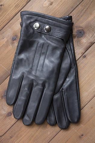 Мужские кожаные перчатки 1-933s2, фото 2