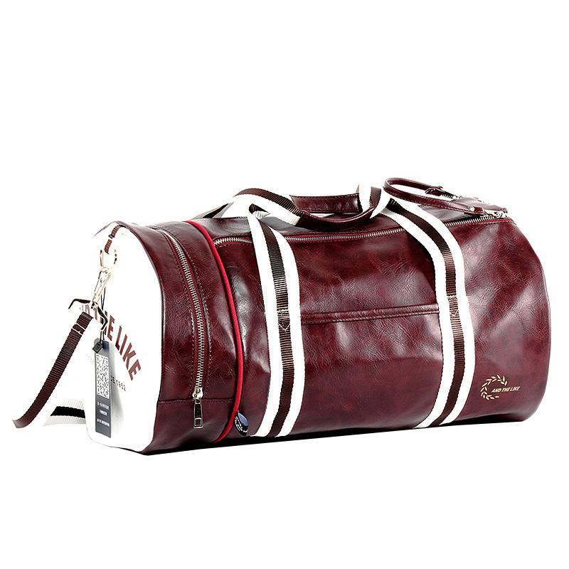 Спортивная сумка And The Like Classic бордовый eps-10023