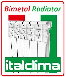 Биметаллический радиатор отопления ItalClima 500 х 100 Италия