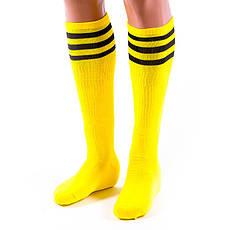 Гетры футбольные детские 31-35 желтые