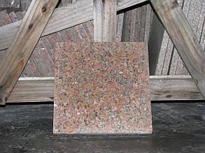 Плитка гранитная G562 Marple Red 300х300х30 ММ ТЕРМО