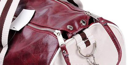 Спортивная сумка And The Like Classic бордовый eps-10023, фото 2