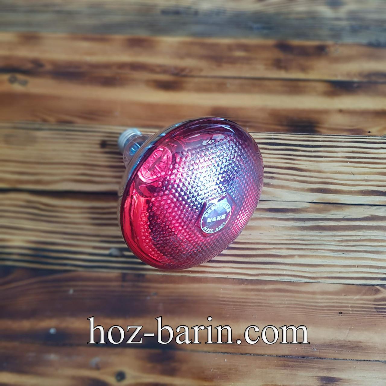 Лампа инфракрасная  (прессованое стекло) 175Вт