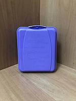 Ланч бокс с 2-мя отделениями фиолетовый