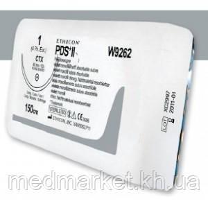 ПДС-ІІ 6-0 колюча модифікована Taper Point 13 мм, 1/2кола, фіолетовий 45см - Medmarket в Харькове
