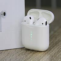 Беспроводные Bluetooth наушники с зарядным кейсом HBQ I10 TWS Stereo белые
