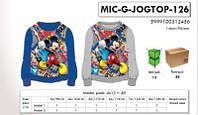 Кофта для мальчиков оптом, Disney, 98-128 см,  № MIC-G-JOGTOP-126