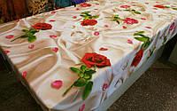 Ткань для пошива постельного белья бязь премиум Романтика беж, фото 1