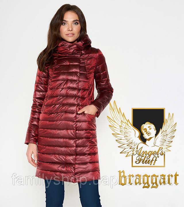 Braggart Angel's Fluff 28215   Воздуховик женский осенне-весенний карминовый