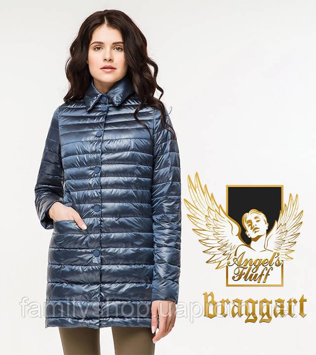 Braggart Angel's Fluff 41323 | Женский весенне-осенний воздуховик темная лазурь