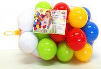 Набор шариков для сухих бассейнов в сумочке Мягкие 25 штук 1+ (KW-02-427)