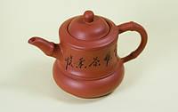"""Чайник """"Кубик"""" из исинской глины 350 мл."""