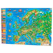 "Плакат Зірка ""Дитяча Карта Європи"" 120328"