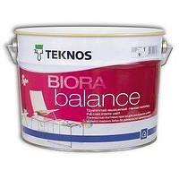 Фарба водорозчинна для стін та стелі (матова) Teknos Biora Balancе, 9 л