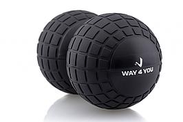 Масажний м'яч Way4You Peanut Massage Ball Roller