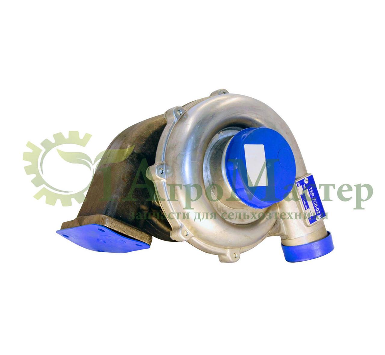 Турбокомпрессор ТКР-7С-6 (03) Камаз Евро-1 (6 шпилек правый) 7406.1118010