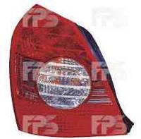 Фонарь задний для Hyundai Elantra XD седан '04-06 левый (DEPO)