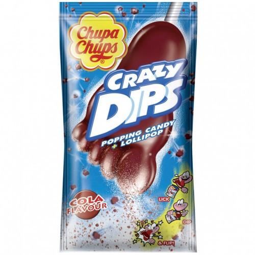 Леденцы Chupa Chups Crazy Dips Cola