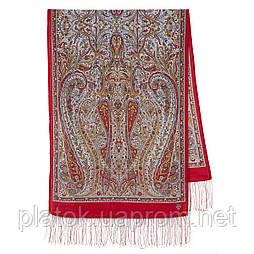 Ода маренням 1560-55, павлопосадский вовняний шарф з шовковою бахромою