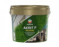 Краска силиконизированная ESKARO AKRIT F SILICONE фасадная 2,7 л