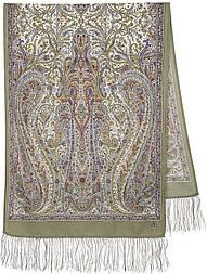 Ода маренням 1560-51, павлопосадский вовняний шарф з шовковою бахромою