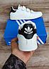 Мужские кроссовки Adidas Stan Smith На Липучке. Натуральная кожа, фото 3