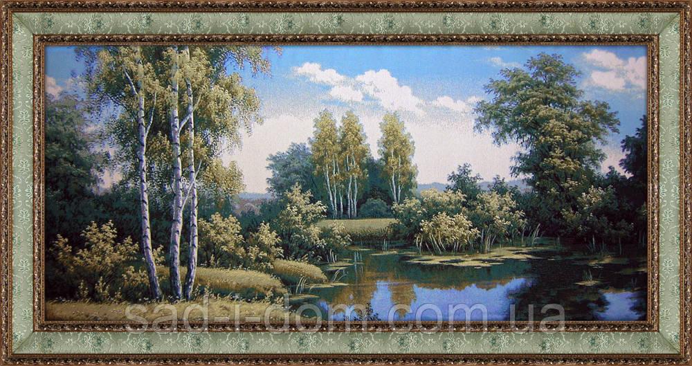 Гобеленовая картина  Лесная речка 80*160 см