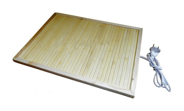 Обогреватель-сушилка бамбуковый ТРИО 01702, 34 х 42 см