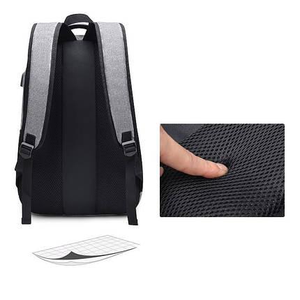 Мужской рюкзак Augur AV черный eps-7045, фото 2