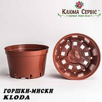 Горшки миски для хризантем, 2 л KLODA (Польша) терракот