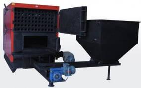 Стальной промышленный твердотопливный котелс автоматической подачей топлива RÖDA RK3G/S 120 кВт
