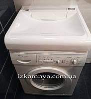 Умывальник на стиральную машину из искусственного камня  002