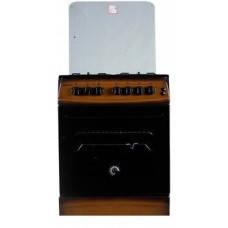 Плита комбинированная MILANO F55 K31E/01 коричневая(крышка стекло,подсвет,поджиг,вертел,КОНВЕКЦ), фото 2