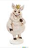 Фігурка декоративна Свинка 13.5 см
