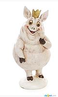 Фігурка декоративна Свинка 13.5 см, фото 1